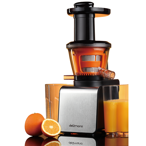 Slow Juicer Delimano : Mahlapress Slow Juicer